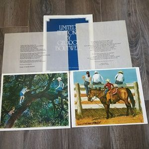 George Boutwell Prints signed and number 8.5x11